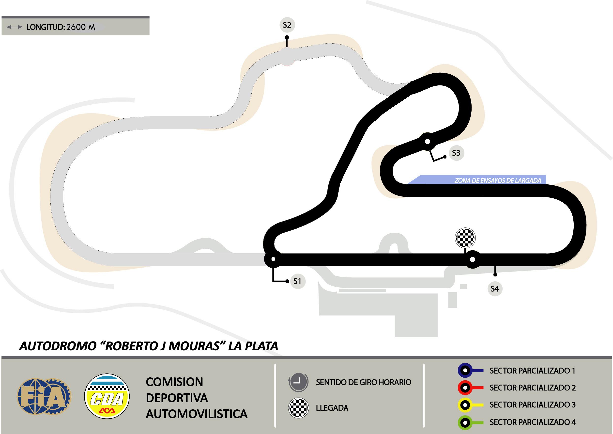 Circuito Galvez : Circuitos tiempos y horarios de partida santa cruz montenbaik